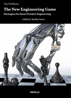 Book cover, The New Engineering Game - Strategies for the Industrial Internet, Tim Weilkiens, MBSE4U